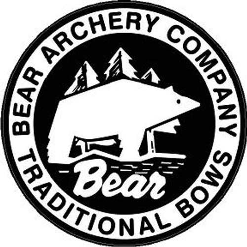 Decal-Bear Archery Trad Emblem