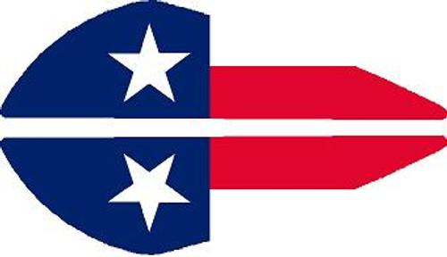 Vane Decal-Texas Flag