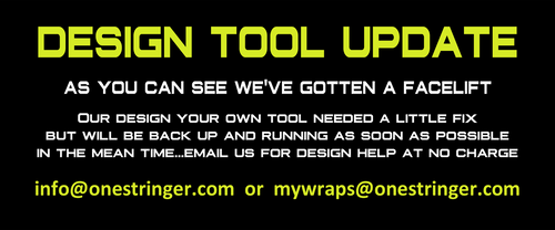 Design Tool is down for maintenance