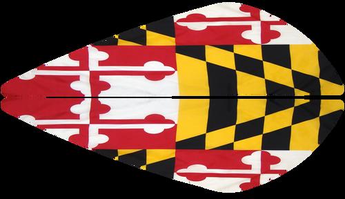 Vane Decal-Maryland Flag