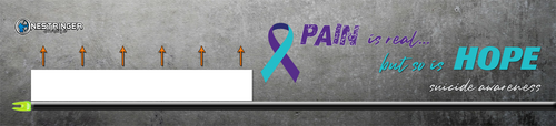 Wrap Pad 14 Suicide Awareness