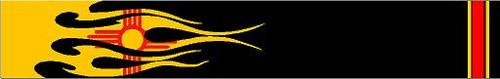 Arrow Wraps-New Mexico Flag Flame