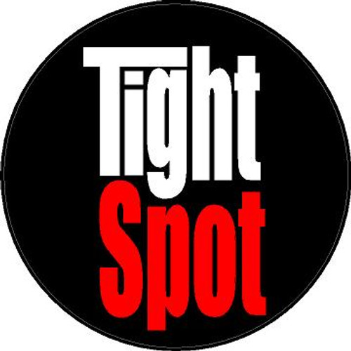 Decal-Tight Spot-Red and White