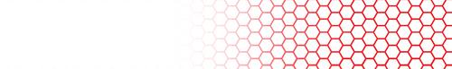 Arrow Wraps-color Honeycomb white fade