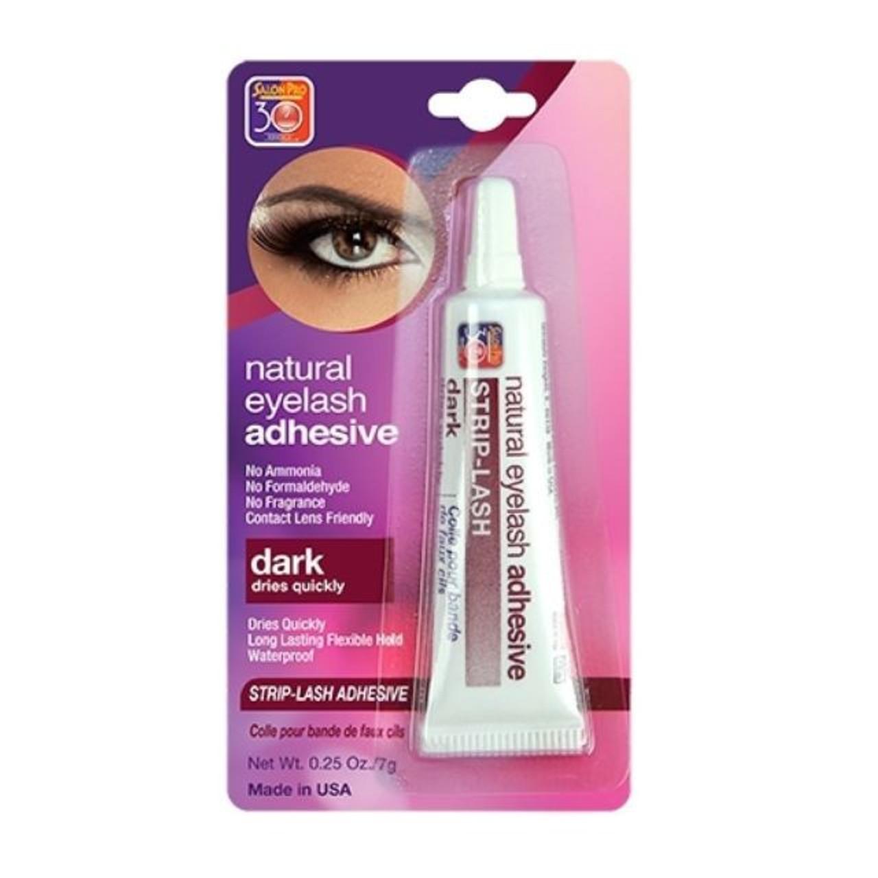 de3bd186887 Salon Pro 30 Sec Natural Eyelash Adhesive Strip Lash Glue 0.25 oz.