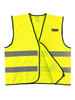 Buffalo Outdoors Class 2 Hi Vis Reflective Safety Work Vest Front Open Hook and Loop Enclosure