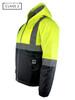 Buffalo Outdoors® Class 2 Hi Vis Safety Two-Tone Lightweight Field Jacket 2.0 Side