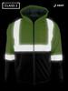 Buffalo Outdoors® Class 2 Hi Vis Safety Two-Tone Lightweight Field Jacket 2.0 Night