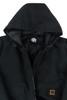 Buffalo Outdoors Ranger 205 Black Winter Bomber Jacket Adjustable Rounded Hood