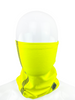 Buffalo Outdoors® Hi-Vis Yellow Neck/Face Gaiter Product on Face
