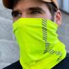 Buffalo Outdoors® Hi-Vis Yellow Neck/Face Gaiter Product Lifestyle