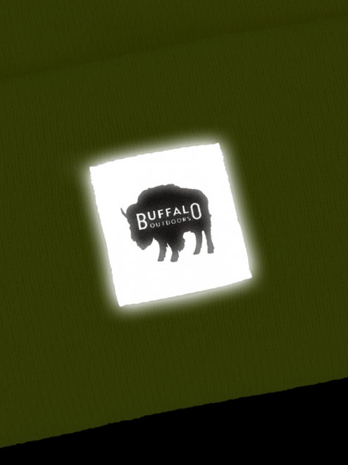 Buffalo Outdoors Hi Vis Reflective Logo Patch