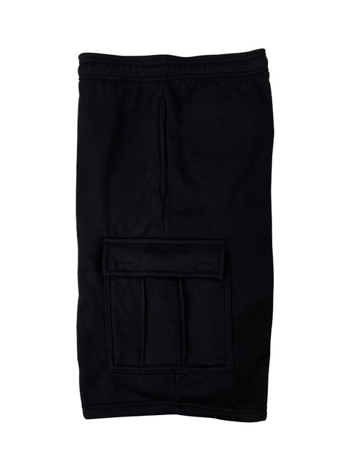 Buffalo Outdoors® Mens All-Season Fleece Lined Cargo Short Black Side