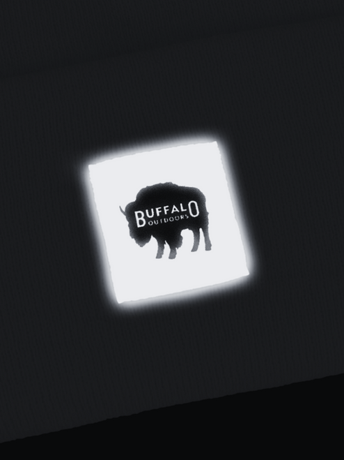 Buffalo Outdoors Reflective Logo Patch