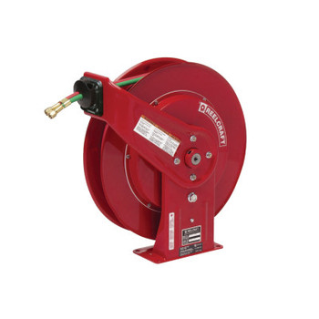 Reelcraft Gas-Welding Hose Reels with Hose, 50 ft, Retractable (1 EA)