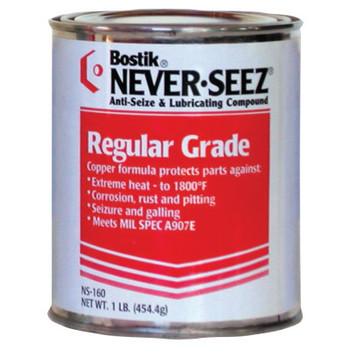 Bostik Never-Seez Regular Grade Compounds, 1 lb Flat Top Can (1 CAN)