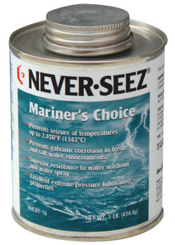 Bostik Never-Seez Mariner's Choice Anti-Seize, 16 oz Brush Top Can (1 CN)