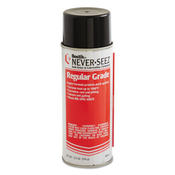 Bostik Never-Seez Regular Grade Compounds, 16 oz Aerosol Can (12 CAN)