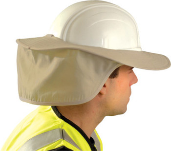 OccuNomix Stow Away Hard Hat Shades, Khaki (1 EA)