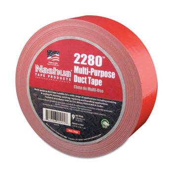 Berry Global 2280 General Purpose Duct Tapes, Red, 55m x 48mm x 9 mil (1 RL)