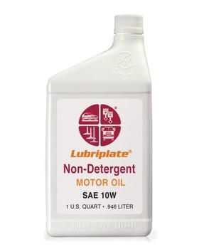 LUBRIPLATE NON-DET. MOTOR OIL -  10W, 1 qt. Bottle, (12 BTL/CS)
