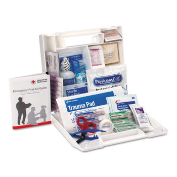 ACME UNITED 25 Person First Aid Kits, Contractors/Fleet Vehicles/Worksites, Plastic (1 EA)