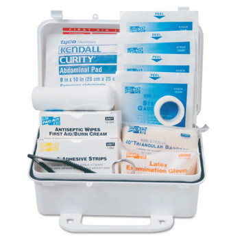 First Aid Only 10 Person ANSI First Aid Kits, Weatherproof Plastic (1 KT)