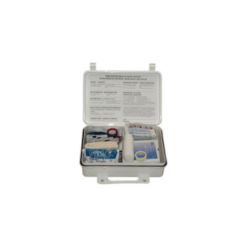 First Aid Only 25-Person Weatherproof ANSI First Aid Kits, Weatherproof Plastic, Wall Mount (1 EA)