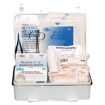 First Aid Only 25 Person Industrial First Aid Kits, Weatherproof Plastic, Wall Mount (1 KIT)