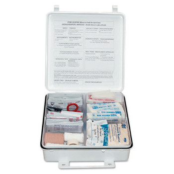 First Aid Only 50 Person ANSI First Aid Kits, Weatherproof Plastic (1 KIT)