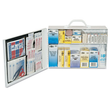 First Aid Only 100 Person Industrial First Aid Kits, Steel (1 KIT)