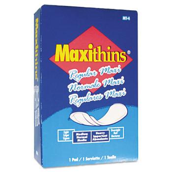Hospeco Maxithins Maxi Pads (250 EA)