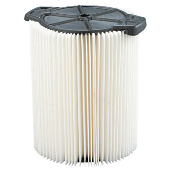 Ridgid Wet/Dry Vacuum Dust Filter, For Ridgid Wet/Dry Vacs 5 Gallons and LargerWD1450 (1 EA)