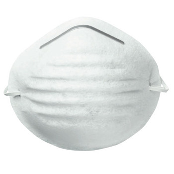 Honeywell Nuisance Disposable Dust Mask, Nose/Mouth, White, One Size (50 EA)