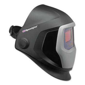 3M Speedglas 9100 Series Helmets, 5; 9100V, Black/Silver, 1.8 in x 3.7 in (1 EA)
