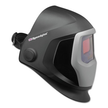3M Speedglas 9100 Series Helmets, 5; 9100V, Black/Silver, 1.8 in x 3.7 in (1 EA)