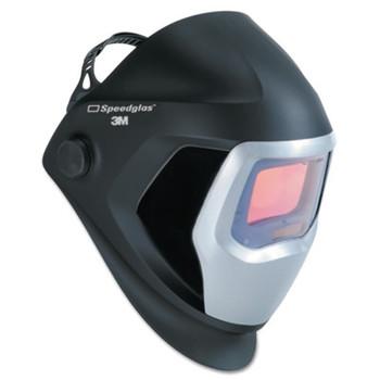 3M Speedglas 9100 Series Helmets, 8 - 13, Black/Silver, 4.2 in x 2.1 in (1 EA)