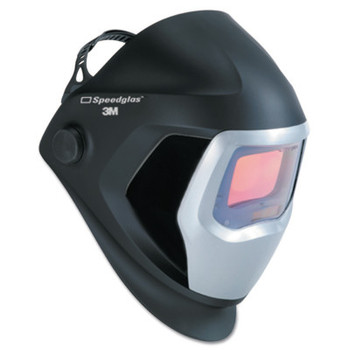 3M Speedglas 9100 Series Helmets, 8 - 13, Black/Silver, 4.2 in x 2.1 in (1 EA)