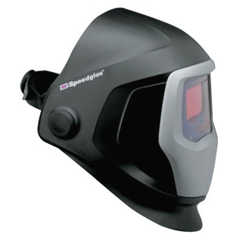3M Speedglas 9100 Series Helmet with Auto-Darkening Filter, 2.8 in x 4.2 in, Black (1 EA)