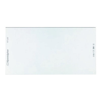 3M Speedglas 9100 Series Inside Protection Plate, Clear, 9100X, 5/Case (5 EA)