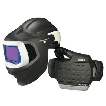 3M Adflo PAPR with 3M Speedglas Welding Helmet 9100MP, Black (1 EA)