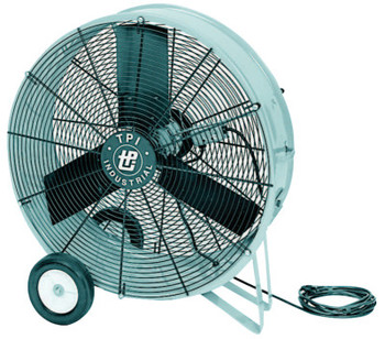 TPI Corp. Direct Drive Portable Blowers, 3 Blades, 36 in, 1,050 rpm (1 EA)