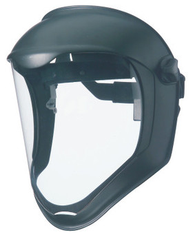 Honeywell Bionic Face Shields, Uncoated, Clear/Black Matte (1 EA)