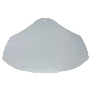 Honeywell Bionic Face Shield Replacement Visors, Uncoated/Clear, Full, Polycarbonate (1 EA)