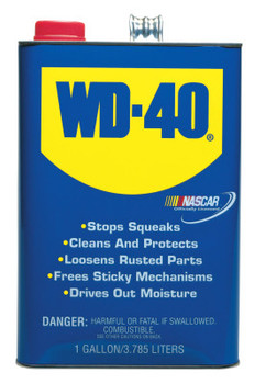 WD-40 Open Stock Lubricants, 1 gal, Canister (4 EA)