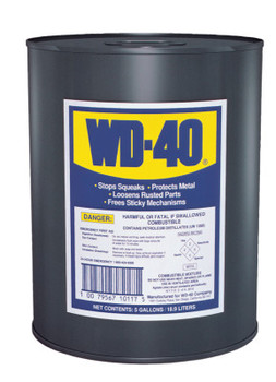 WD-40 Open Stock Lubricants, 5 gal, Canister (1 EA)