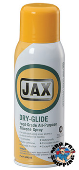 JAX #108 DRY-GLIDE FOOD GRADE SILICONE Multi-Purpose, 10 oz., (12 CANS/CS)