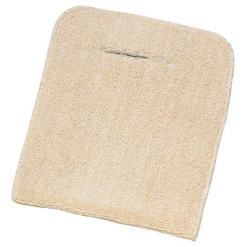 Wells Lamont Baker Hand Pads, 11 in x 9 1/2 in, Extra Heavy Terry Cloth, Tan (12 EA)