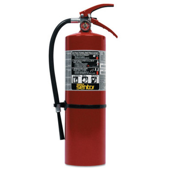 Ansul SENTRY Dry Chemical Hand Portable Extinguisher, Class ABC TAL, 10lb Cap. Wt. (1 EA)