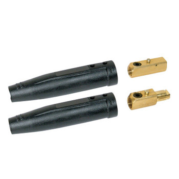 Best Welds Cable Connector, 1 Male and 1 Female, Ball Point Connection, 1/0-3/0 Cap. (1 ST)